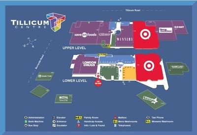 Tillicum Centre plan