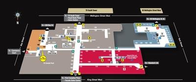 Toronto-Dominion Centre (TD Centre) plan