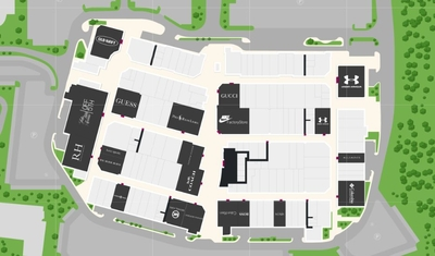 Toronto Premium Outlets plan
