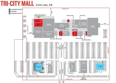 Tri City Mall plan