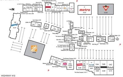 Trinity Common Square Mall plan