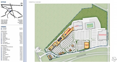 Trinity Drive / Wheeler Park Power Center plan