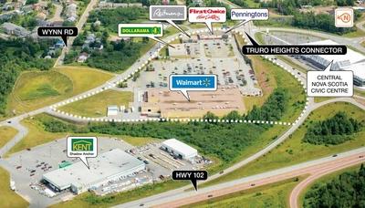 Truro Shopping Centre plan