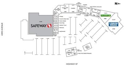 Vernon Square Mall plan
