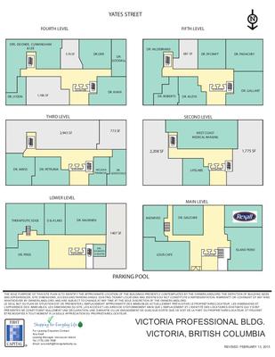 Victoria Professional Building plan