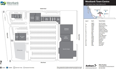 Westbank Towne Centre plan