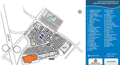 Westgate SmartCentre plan