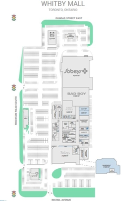 Whitby Mall  plan
