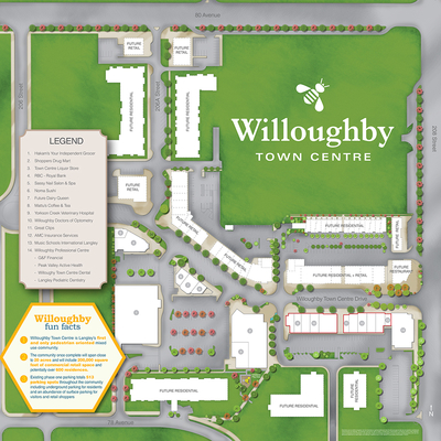 Willoughby Town Centre plan