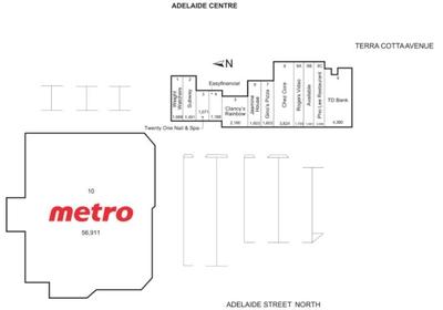 Adelaide Centre plan