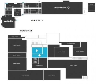 Agincourt Mall plan