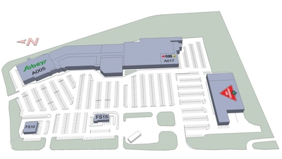 Amherst Centre Mall plan