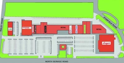 Applewood Village Shopping Plaza plan