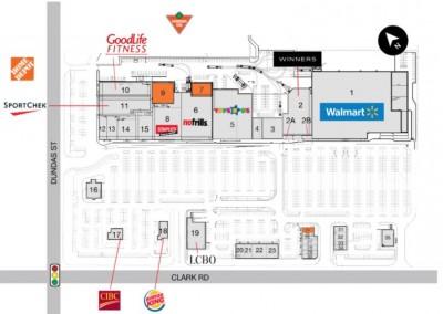 Argyle Mall / Plaza plan
