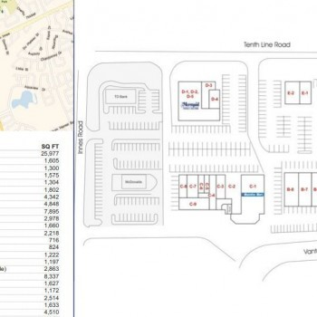 Avalon Centre plan