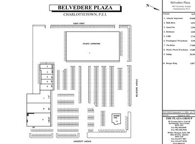 Belvedere Plaza plan