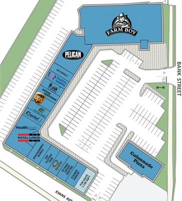 Blue Heron Mall plan