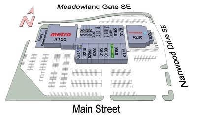 Brampton Mall plan