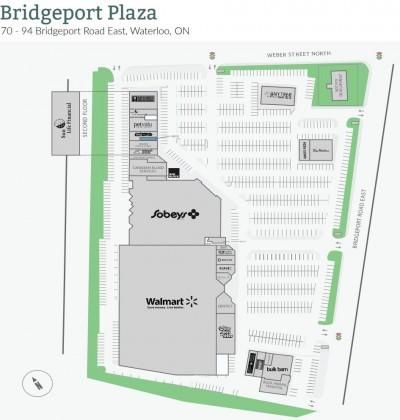 Bridgeport Plaza plan