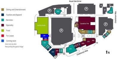 Broadmead Village Shopping Centre plan