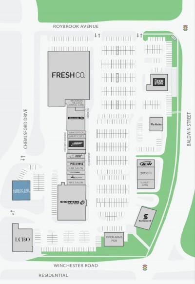 Brooklin Towne Centre plan