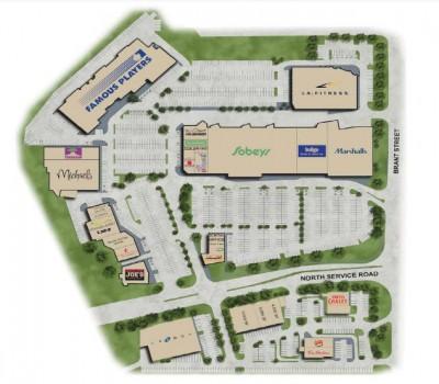 Burlington Power Centre plan