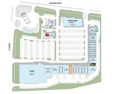 Cachet Centre plan