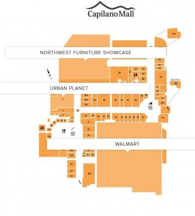 Capilano Mall plan