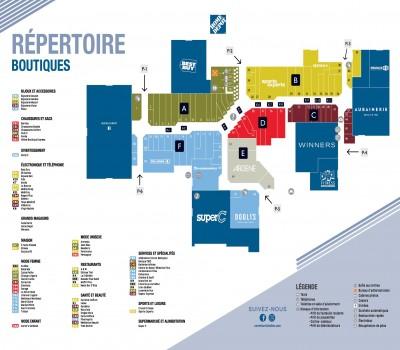 Carrefour Richelieu plan