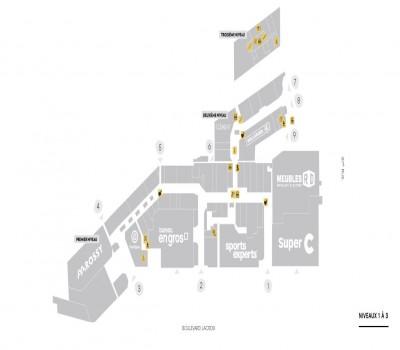Carrefour Saint-Georges plan