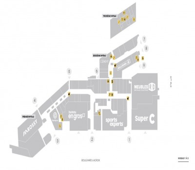 Carrefour St-Georges plan
