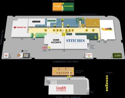 Cedarbrae Mall plan