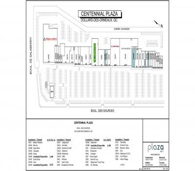 Centennial Plaza plan