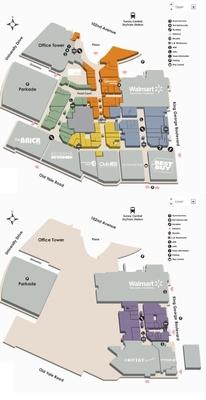 Central City Shopping Centre plan