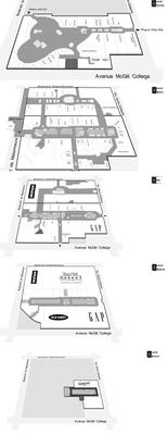 Centre Eaton de Montréal plan