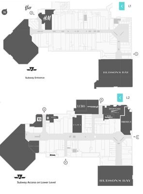 CF Fairview Mall plan