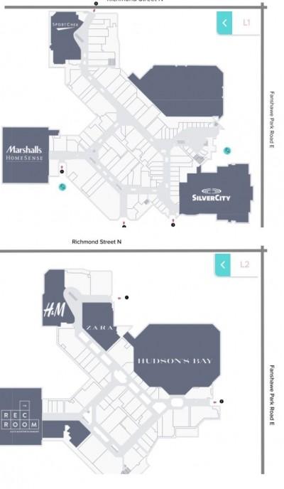 CF Masonville Place plan