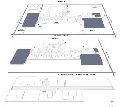 CF Polo Park Shopping Centre plan