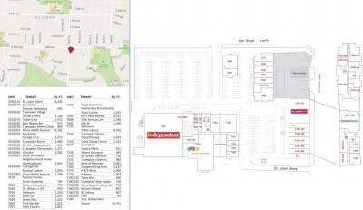 Champlain Square plan