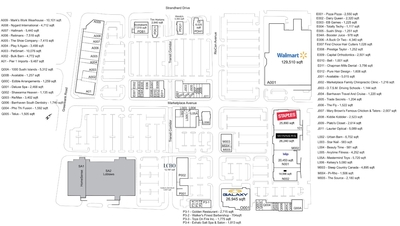 Chapman Mills Marketplace plan
