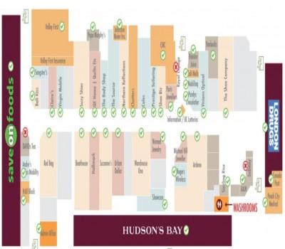 Cherry Lane Shopping Centre plan