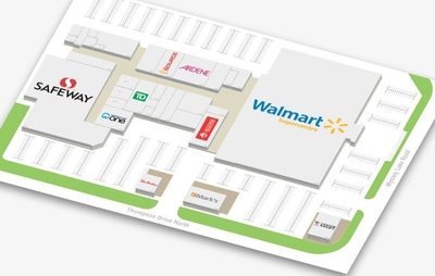 City Centre Mall  plan