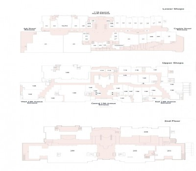 City Square Shopping Centre plan