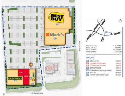 Clareview Town Centre plan