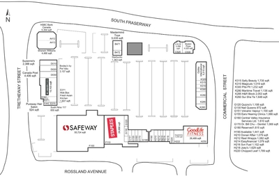 Clearbrook Town Square plan
