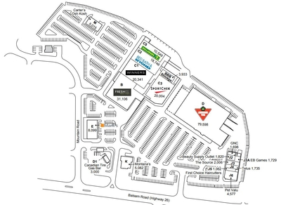 Collingwood Centre plan