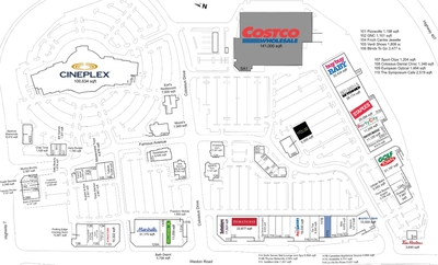 Colossus Centre plan