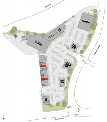 Columbia Square plan