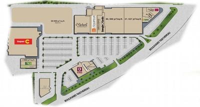 Complexe 5 Mille plan