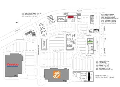 Corbett Centre plan